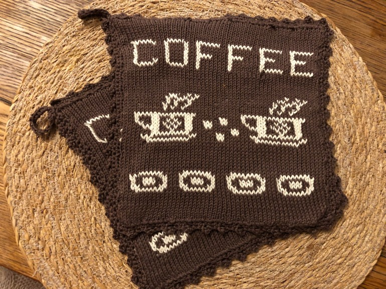 Kaffe-klut-red